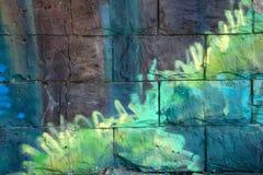 Modèle de marbre pourpre très beau Papier peint d'art abstrait Art et or Papier turc d'Ebru- Luxe naturel Peinture de gouache photographie stock