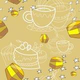 Modèle de miel Photographie stock libre de droits
