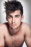 Modèle de mode mâle Photographie stock