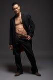 Modèle de mode mâle Images libres de droits