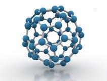 modèle de molécule de l'illustration 3D Image libre de droits