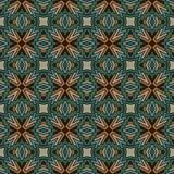 Modèle de mosaïque abstrait sans couture Photo stock