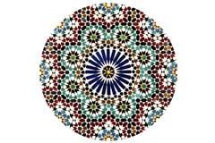 Modèle de mosaïque d'arabesque photos libres de droits