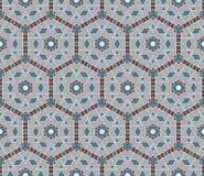 Modèle de mosaïque sans couture dans le style oriental Images libres de droits