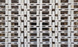 Modèle de mur des palettes en bois images libres de droits