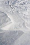 Modèle de neige Photos stock