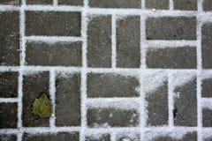 Modèle de neige Images stock