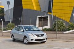 Modèle de Nissan Sunny 2013 Photographie stock