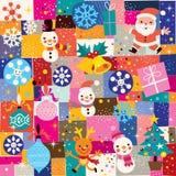 Modèle de Noël Photos stock