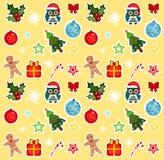 Modèle de Noël Photos libres de droits