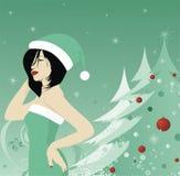modèle de Noël Photographie stock libre de droits
