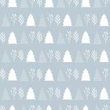 Modèle de Noël sur un fond gris Photo stock
