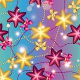 Modèle de nouvelle année avec la boule Papier peint de Noël Photographie stock libre de droits