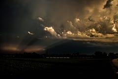 Modèle de nuage Photographie stock libre de droits