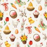 Modèle de Pâques photo stock