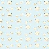 Modèle de panda illustration de vecteur