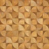 Modèle de panneau de mur intérieur - fond sans couture - texture en bois Image stock