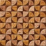 Modèle de panneau de mur intérieur - fond sans couture - texture en bois de noix Image stock