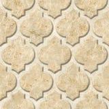 Modèle de panneau de mur intérieur - matériel abstrait de décoration - décor arabe - modèles géométriques Photo libre de droits