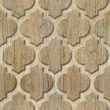 Modèle de panneau de mur intérieur - matériel abstrait de décoration - décor arabe - modèles géométriques photo stock