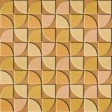 Modèle de panneau de mur intérieur - texture en bois de chêne blanc Photo stock