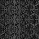 Modèle de papier foncé élégant sans couture 326 Diamond Check Cross de l'art 3D Images stock