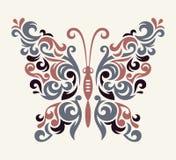 Modèle de papillon de vecteur Photos stock