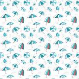 Modèle de parapluie Photo libre de droits