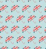 Modèle de parapluie de Londres Image stock