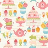 Modèle de partie de Pâques illustration stock