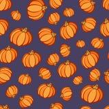 Modèle de partie de potiron de Halloween Images stock