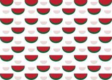Modèle de pastèque Photographie stock libre de droits