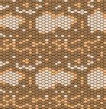 Modèle de peau de serpent dans le style de cru, texture de reptile Copie animale Peut être employé pour des tissus, papiers peint illustration libre de droits