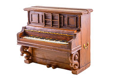 Modèle de piano photographie stock libre de droits