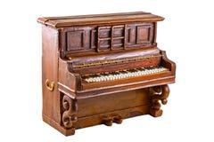Modèle de piano photo libre de droits