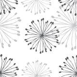 Modèle de pissenlit Image stock