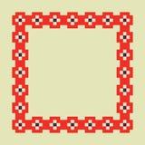 Modèle de pixel Photographie stock libre de droits