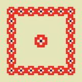 Modèle de pixel Photo stock