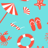 Modèle de plage Photos libres de droits