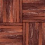 Modèle de plancher en bois dur de vintage Photos libres de droits