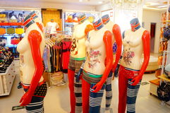 Modèle de plastique de mode Images libres de droits
