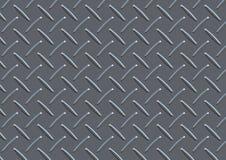 Modèle de plat argenté Images stock