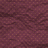 Modèle de point sans couture de polka de coeurs avec le papier chiffonné Photo libre de droits