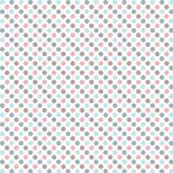 Modèle de points de polka. Image stock