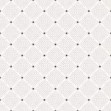 Modèle de points sans couture. Copie de point de polka Images libres de droits