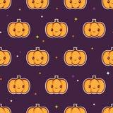 Modèle de potiron de Halloween illustration libre de droits