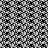 Modèle de répétition noire et blanche et image sans couture de vecteur Photographie stock libre de droits