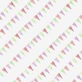 Modèle de répétition sans couture d'impression diagonal coloré de triangle illustration de vecteur