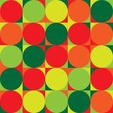Modèle de répétition sans couture des cercles et de tout autre shap géométrique Photos stock