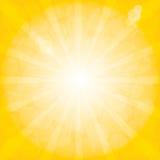Modèle de rayon de soleil. Fond radial. Image stock